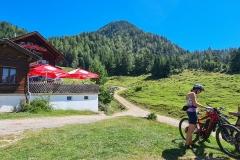 Hütte am Hintersteiner See (oben)