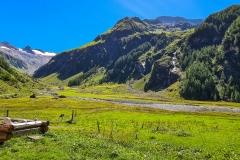 Blick auf den Großvenediger vom Habachtal aus