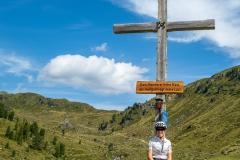 Gipfelkreuz im Salzachtal