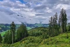 Toller Ausblick ins Tal bei Neukirchen am Großvenediger
