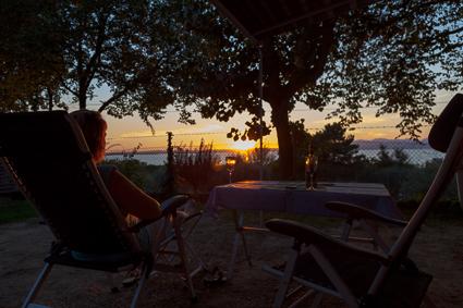 Sonnenuntergang am Gardsee