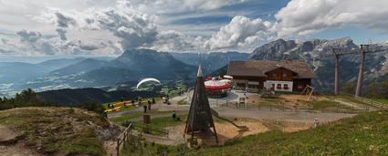 Panoramablick auf der Bischlingshöhe