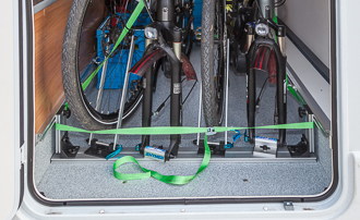 WoMo: RadFazz-Fahrradhalter für den Kofferraum