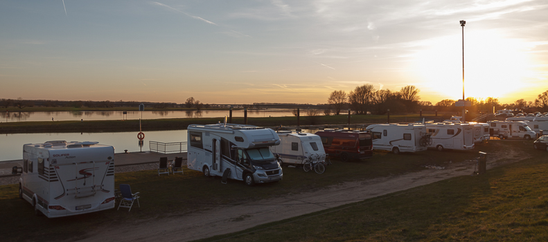 Kurztripp: Wittenberge an der Elbe